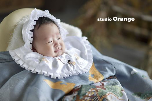 お宮参り  着物 家族写真 奈良 スタジオ 可愛い 写真 おしゃれ