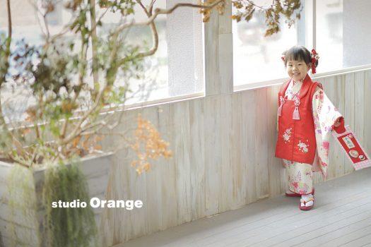 奈良 写真館 七五三 三歳