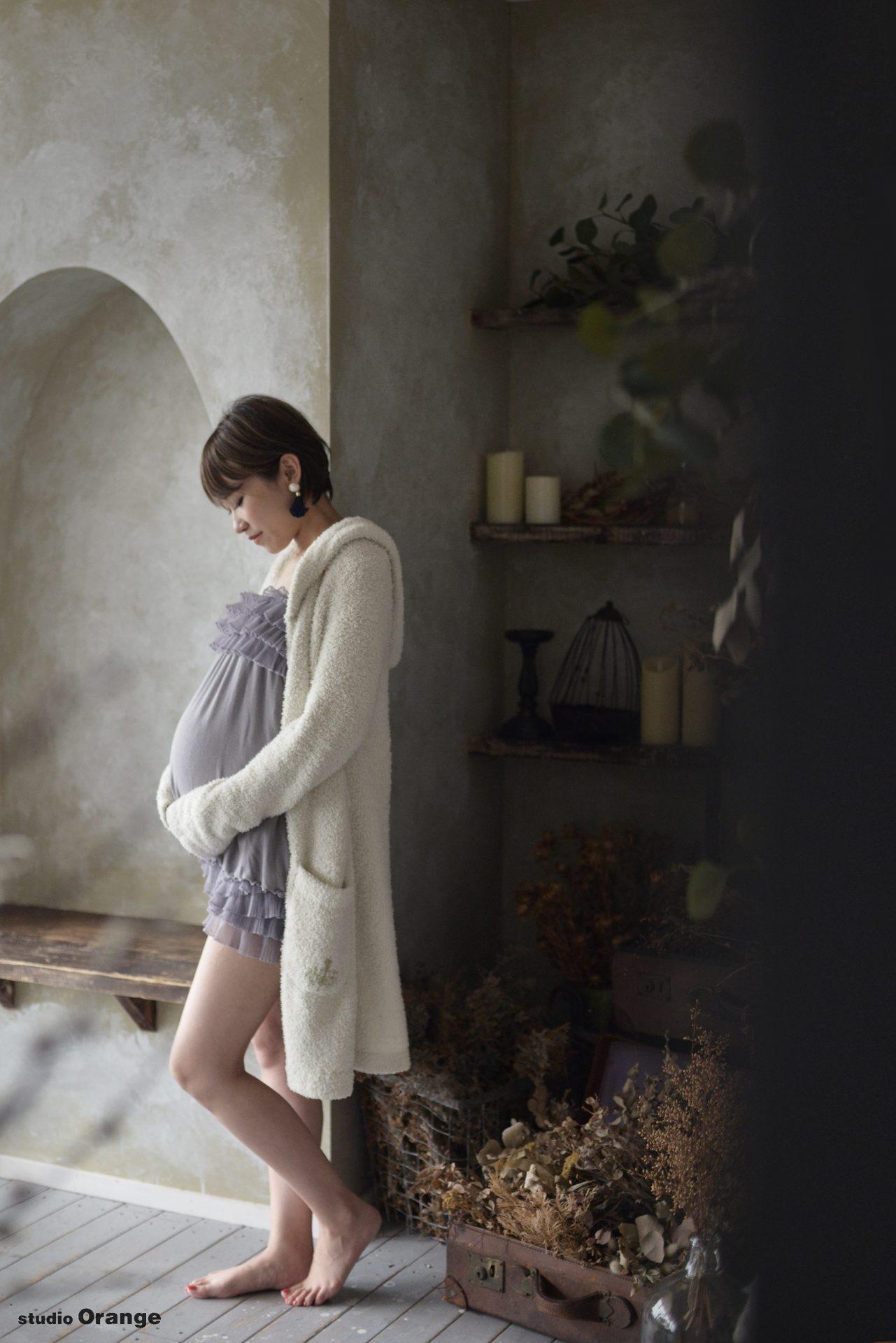 マタニティ マタニティフォト 妊婦 プレママ マタニティドレス