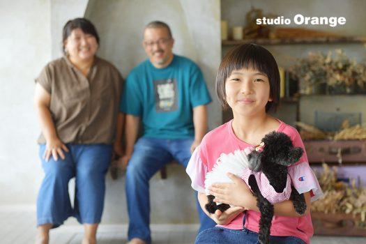 奈良 写真館 家族撮影 ペット 記念撮影