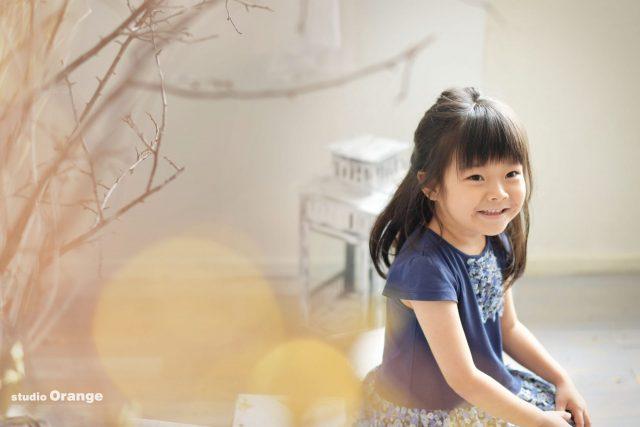奈良 フォトスタジオ 女の子 バースデー お誕生日 ピンク ドレス