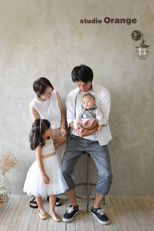 奈良 写真館 お誕生日 家族撮影