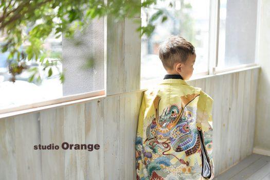 奈良 写真館 七五三 五歳 男の子 袴