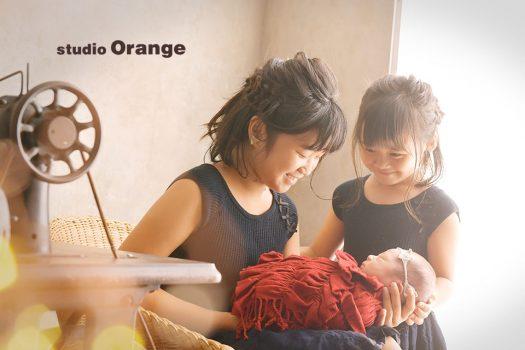 ニューボーン 新生児 奈良 写真館 スタジオオレンジ