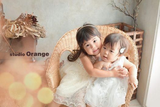 奈良 写真館 お誕生日 ドレス 姉妹 兄弟