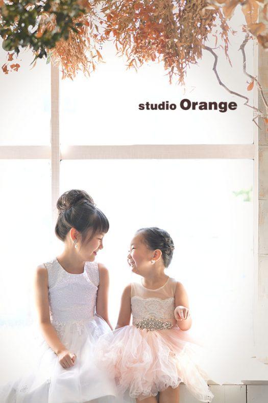 奈良 写真館 七五三 ドレス