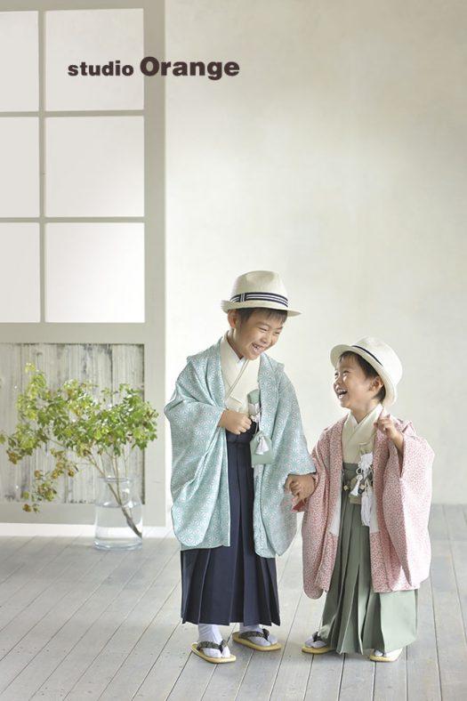 奈良 写真館 七五三  袴 オリジナル着物