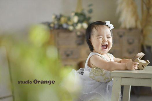 奈良 写真館 お誕生日 ドレス