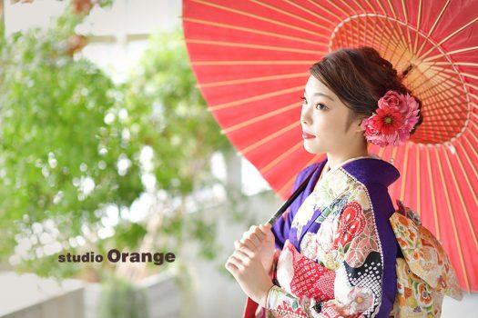 成人式 前撮り 後撮り 奈良 写真館 スタジオオレンジ