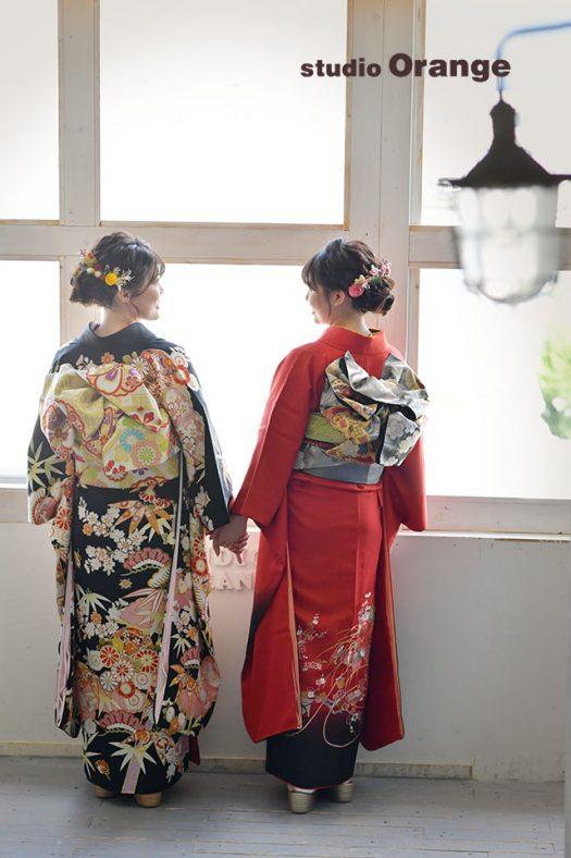 奈良 写真館  成人式 前撮り