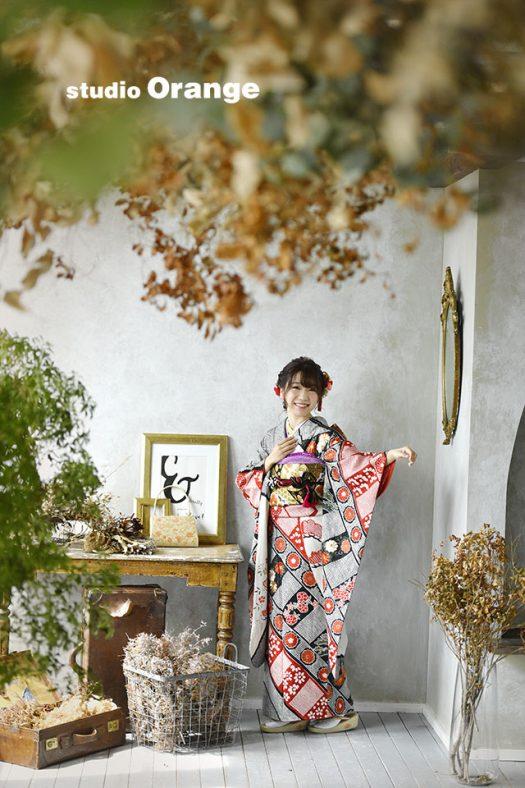 奈良 写真館 成人式 前撮り 後撮り