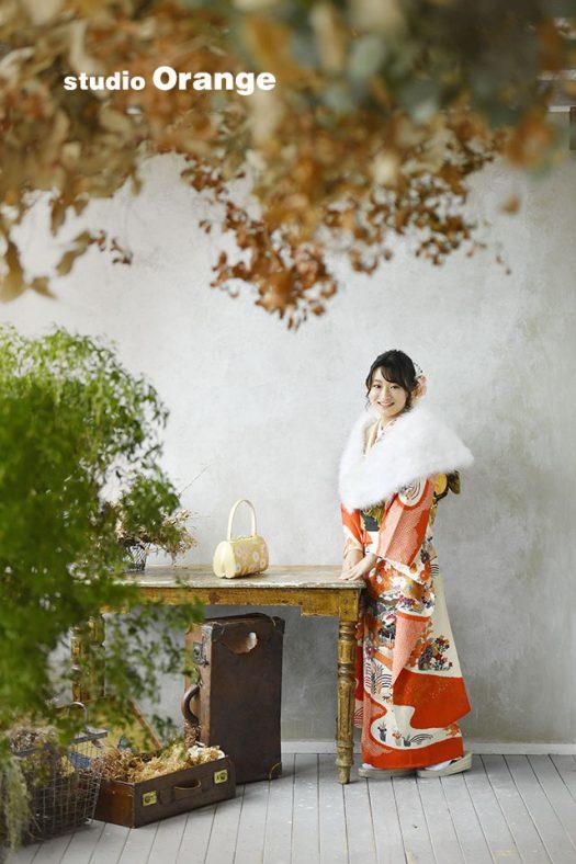 奈良 写真館 成人式 前撮り 着物 持ち込み