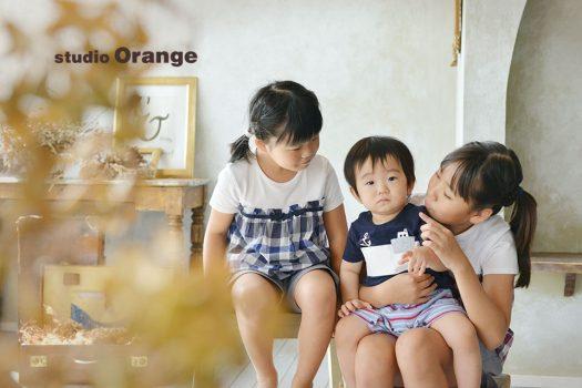 お誕生日 奈良 写真館 スタジオオレンジ