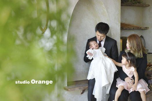 奈良 写真館 お宮参り 家族写真