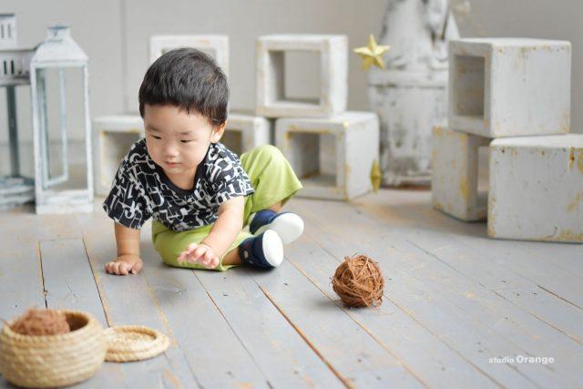 誕生日 写真館 奈良 バースデー 姉弟 フォトスタジオ