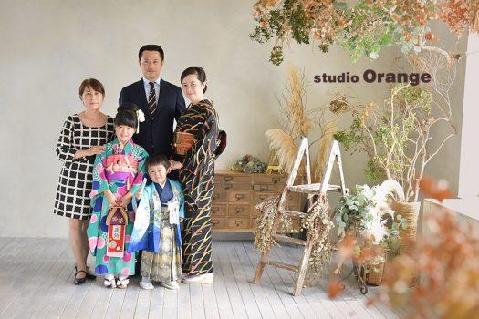 奈良店 七五三 家族写し