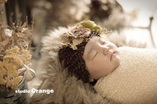 奈良 写真館 ニューボーン 新生児