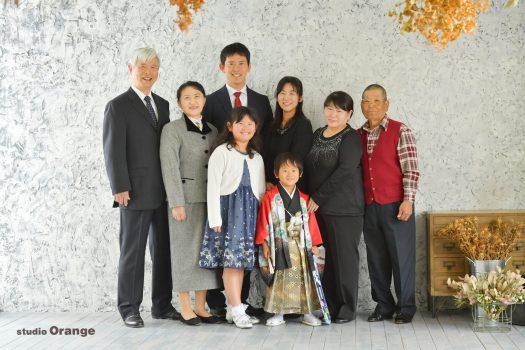 家族撮影 七五三 春日大社 奈良市 写真館 フォトスタジオ