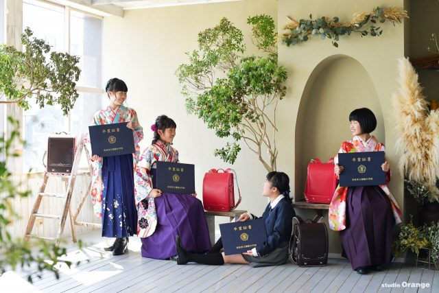 18歳 友達 フレンズフォトキャンペーン 卒業袴