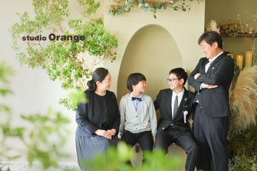 奈良店 スタジオ 写真館 入学式 卒業式 家族写し