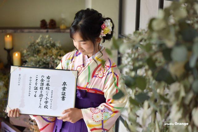 入学 入園 卒業 卒園 袴 制服 着物 ランドセル 証書 奈良 スタジオ 写真館 ハウススタジオ
