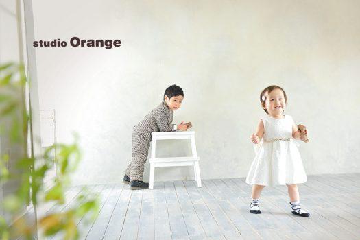 奈良店 バースデー 兄弟写し 洋装 ドレス スーツ
