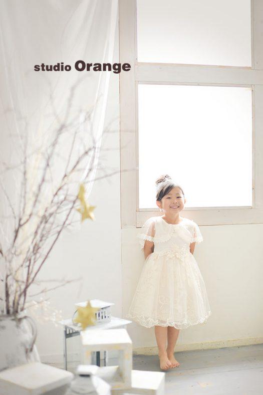 奈良店 スタジオ 写真館 バースデー 1人写し 私服 スーツ ドレス 裸