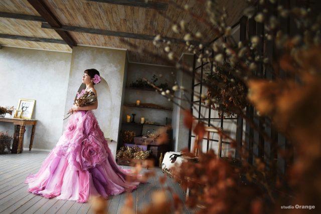 成人 ドレス 紫色のドレス