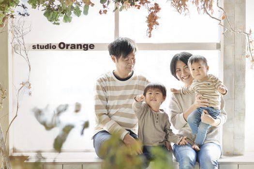 奈良店 記念 家族写し