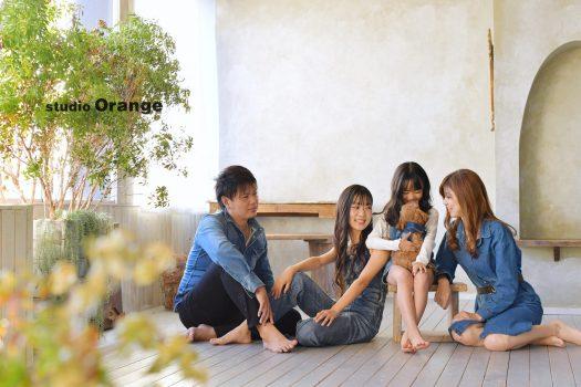 奈良市 フォトスタジオ 写真館 家族撮影 リンクコーデ