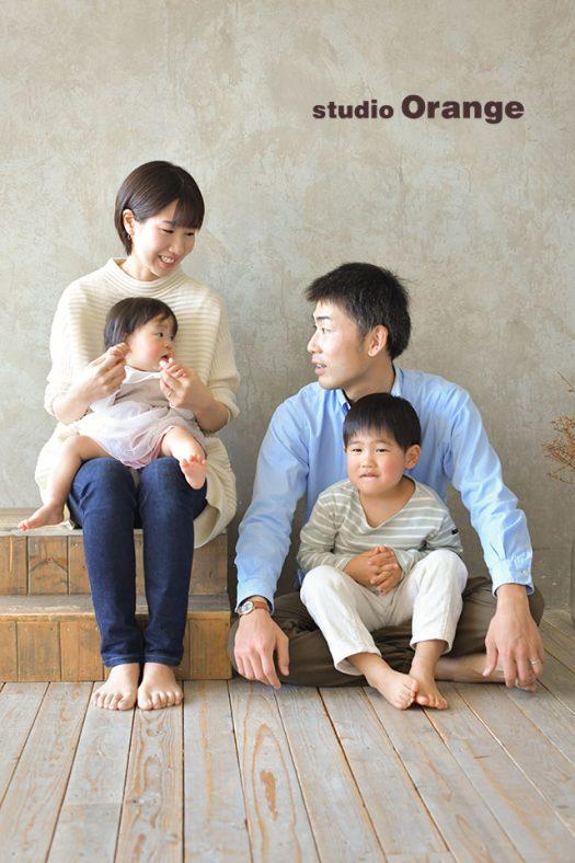 奈良県 バースデー お誕生日 洋装 家族写し
