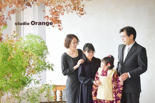 奈良店 七五三 家族写し 和装 着物