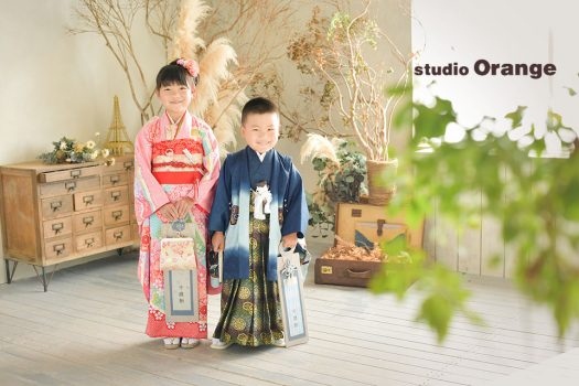 奈良店 七五三 兄弟写し 和装 着物