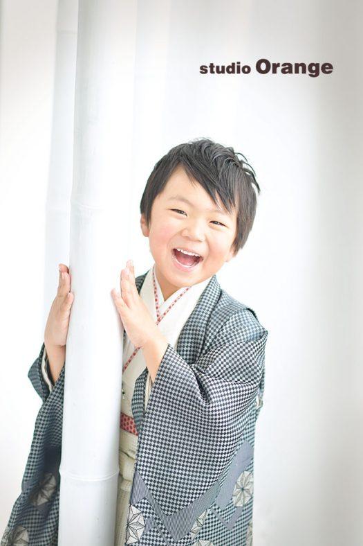 奈良店 スタジオ 写真館 七五三 着物 和装 1人写し 袴 被布 帯