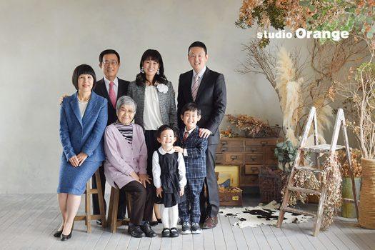 奈良店 スタジオ 写真館 七五三 和装 着物 スーツ ドレス 家族写し