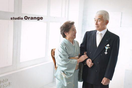 奈良店 ご夫婦 2人写し 受章 金婚式 記念