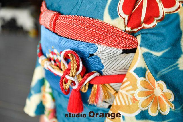 奈良市 レンタル振袖 成人式 成人式前撮り 成人式後撮り 水色の振袖