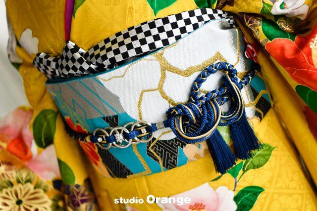 奈良市 レンタル振袖 成人式 成人式前撮り 成人式後撮り 黄色の振袖