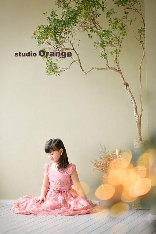 奈良店 フォトスタジオ 写真館 ドレス スーツ 洋装 バースデー 誕生日 1人写し