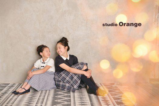 奈良店 フォトスタジオ 写真館 入学式 卒業式 ランドセル 卒業証書 姉妹写し