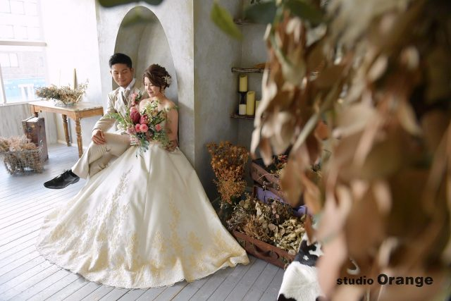 フォトスタジオ 奈良市 ウェディング 洋装 ドレス