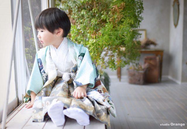 七五三 奈良 写真館 女の子 男の子 3歳男の子 着物
