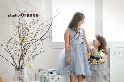 奈良店 フォトスタジオ 写真館 バースデー お誕生日 記念 洋服 スーツ ドレス 私服 姉妹写し