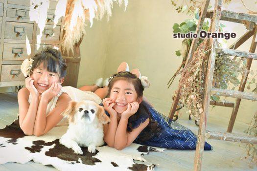 奈良店 フォトスタジオ 写真館 ドレス スーツ 洋装 私服 バースデー 誕生日 兄弟写し 姉妹写し