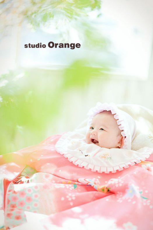 奈良店 フォトスタジオ 写真館 お宮参り スーツ ドレス 着物 産着 1人写し