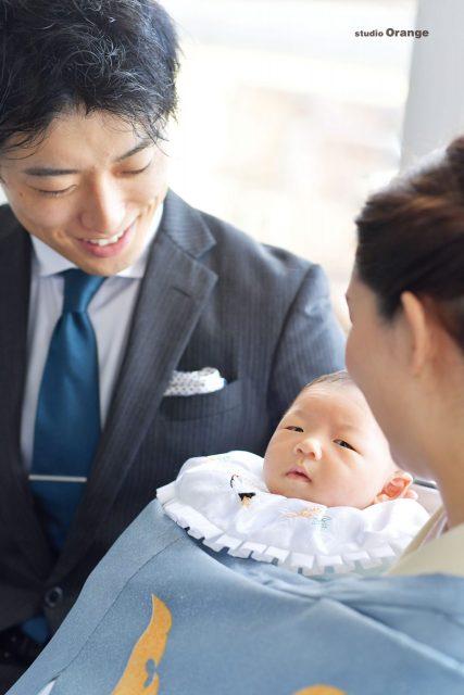 お宮参り 着物 和装 洋装 タキシード ママ パパ 訪問着 赤ちゃん 令和ベビー 奈良 スタジオ 奈良スタジオ フォトスタジオ