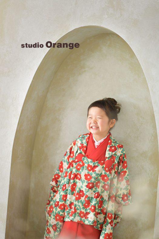 奈良店 七五三 和装 着物 袴 被布 1人写し