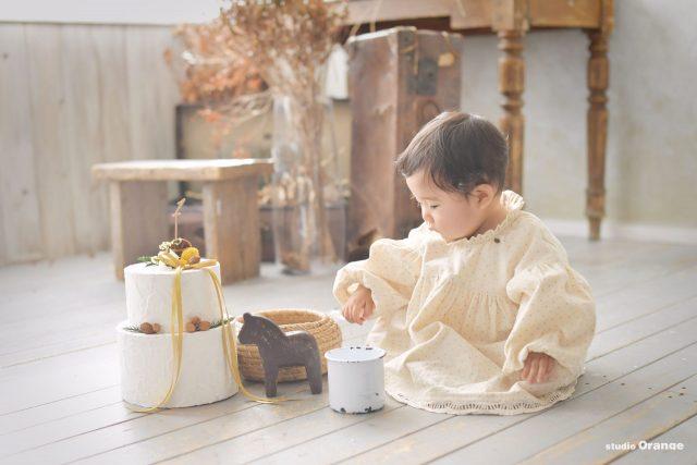 お誕生日 バースデー バースデーケーキ スマッシュケーキ 赤ちゃん 1歳 1才 女の子 誕生日ケーキ ベビー フォト 写真