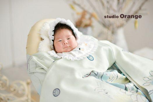 お宮参り 和装 1人写し 着物 フォトスタジオ 奈良店 写真館