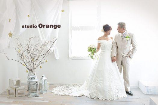 奈良店 フォトスタジオ 写真館 結婚式 ブライダル 洋装 ドレス ウェディングドレス 2人写し